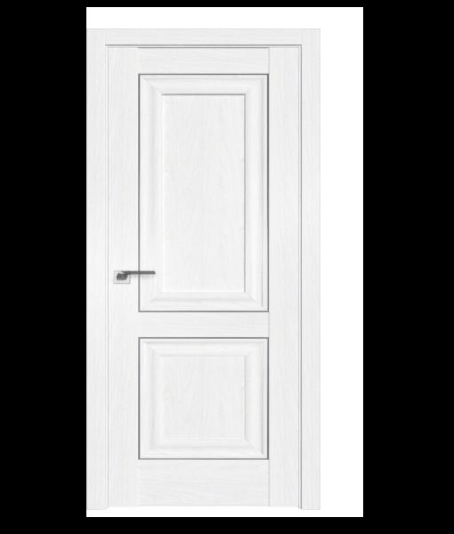 ДП 27X, цвет Пекан белый, молдинг Серебро