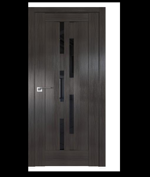 ДП 30X, цвет Грей Мелинга, стекло Черный триплекс