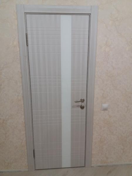Установка м/к двери в современном стиле
