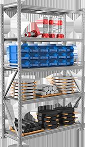 Полугрузовой стеллаж металлический LMS Pro (Profi)