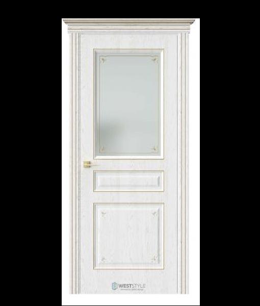 АМПИР Дуб Винта стекло