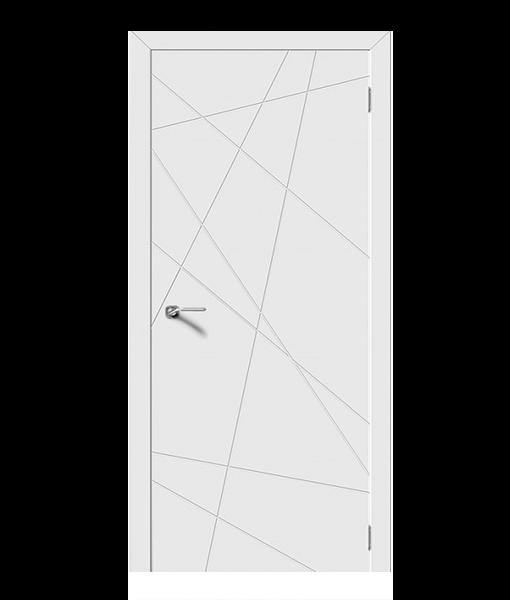 Модель LINE, глухие, белая эмаль